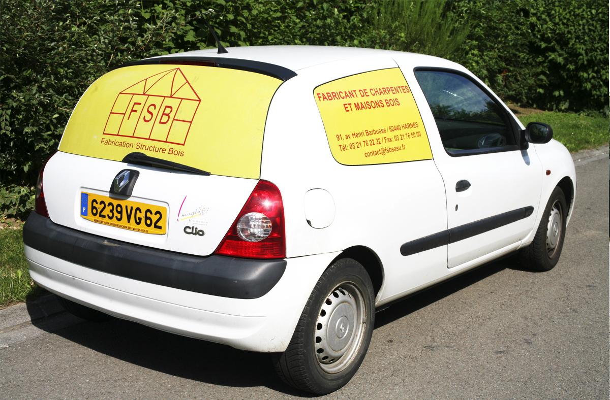 Lettrage et covering véhicule