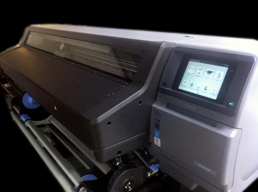 Une nouvelle imprimante grand-format est arrivée